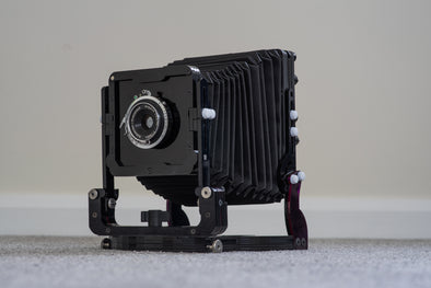 Chroma - a New Large Format Camera Made of Laser Cut Acrylic