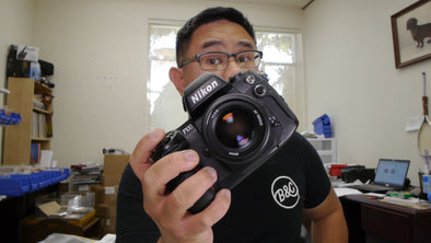 Nikon F100 Video Review by Mike Padua