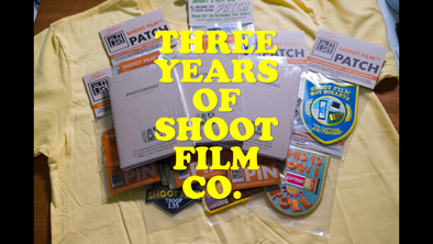 THREE YEARS of ShootFilmCo: GIVEAWAY