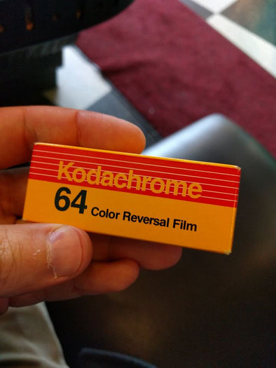 Kodachrome. Processed in Color. Seriously.