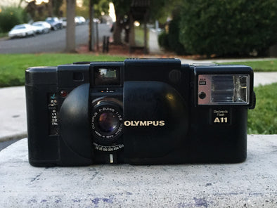 The Golden Ticket - Win an Olympus XA 35mm Film Camera on Black Friday