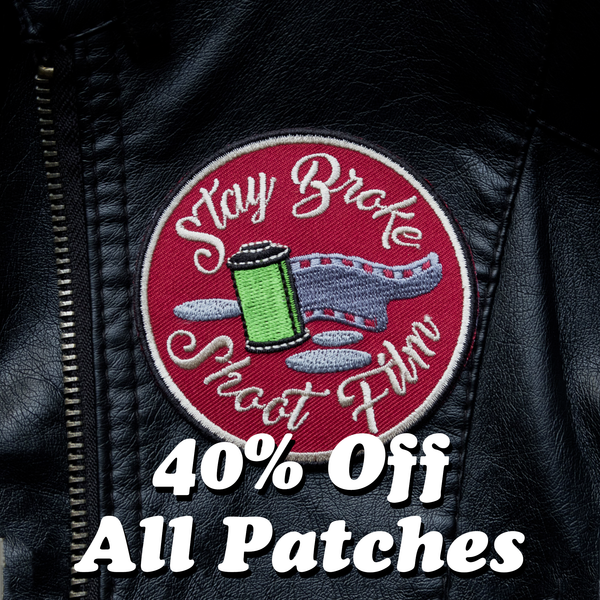40% off all shootfilmco patches black friday 2020