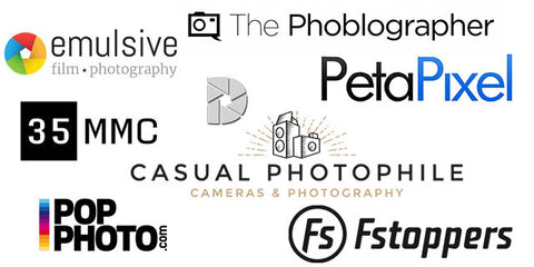 some media outlets that have reviewed PhotoMemo film photography notebook