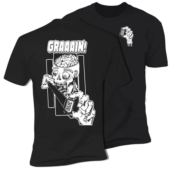 shootfilmco zombie wants grain shirt