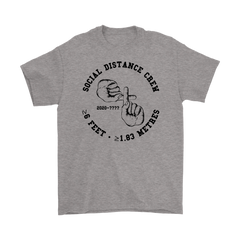 Social Distance Crew Cotton T-Shirt - 100% Proceeds to California Association of Food Banks