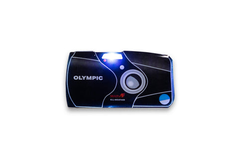 Olympus Stylus Epic / MJU II Light Up Lapel Pin