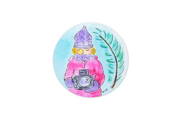 """Snow Day"" Sticker by Monika Danos - Shoot Film Co."