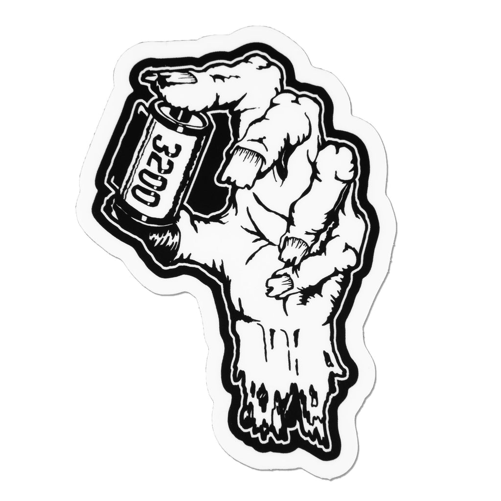 Zombie Hand 35mm Film Roll Vinyl Sticker
