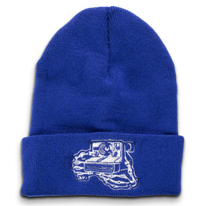 Skeleton Hands Instant Camera Beanie - Shoot Film Co.