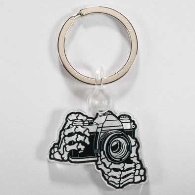 Skeleton 35mm Film SLR Keychain - Shoot Film Co.