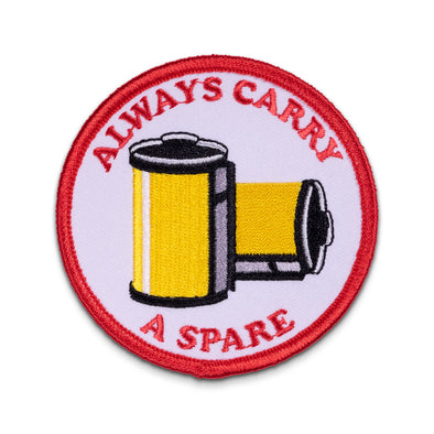 Always Carry a Spare v02 Embroidered Patch - Shoot Film Co.