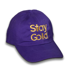 Stay Gold Dad Cap