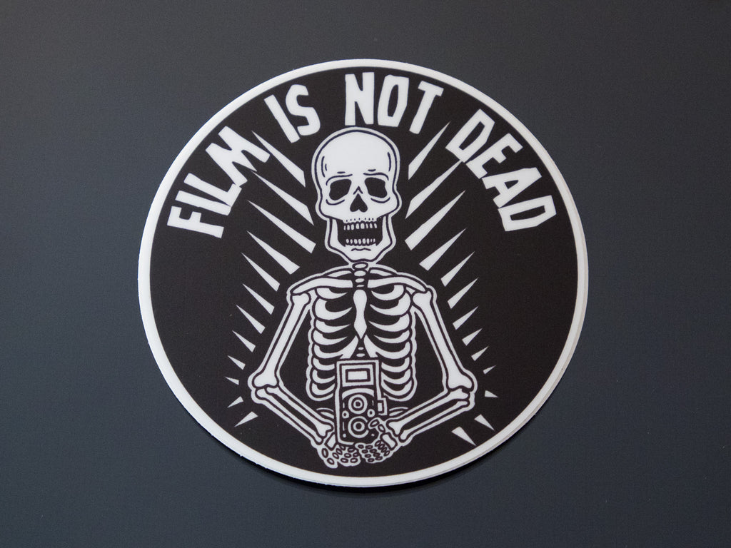 Film is Not Dead Vinyl Sticker