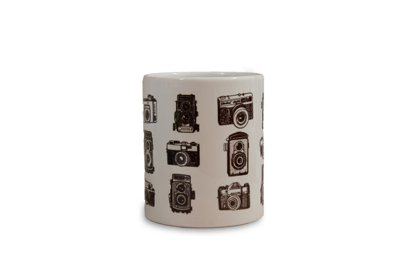 Vintage Cameras Color Changing Mug - Shoot Film Co.