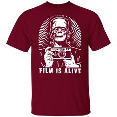 Film is Alive Short Sleeve Cotton T-Shirt