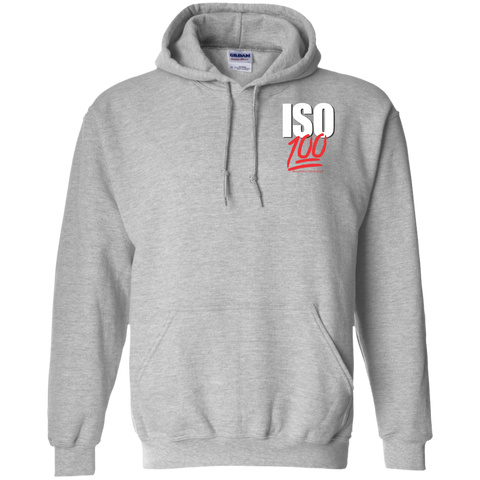 ISO 100 Pocket Logo Pullover Hoodie