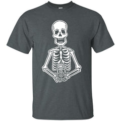 Film is Not Dead Skeleton Film Camera T-Shirt