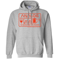 Analog Sciences Division Hoodie Pullover Sweatshirt