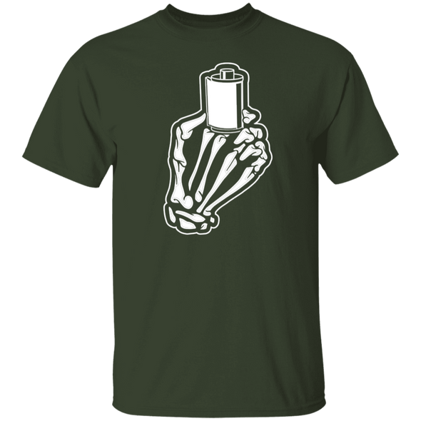 Skeleton Hands 35mm Film T-Shirt Standard Quality - Shoot Film Co.