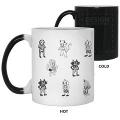 Camera Creatures of the Night Color Changing Mug