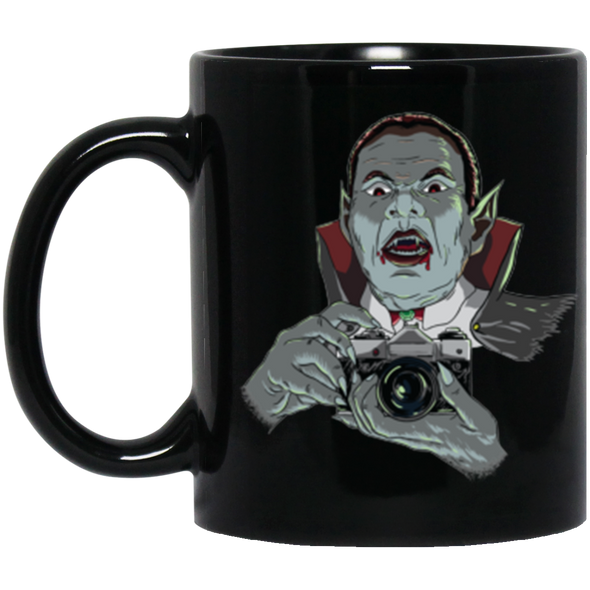 Vampire SLR 35mm Film Camera 11oz Black Mug - Shoot Film Co.