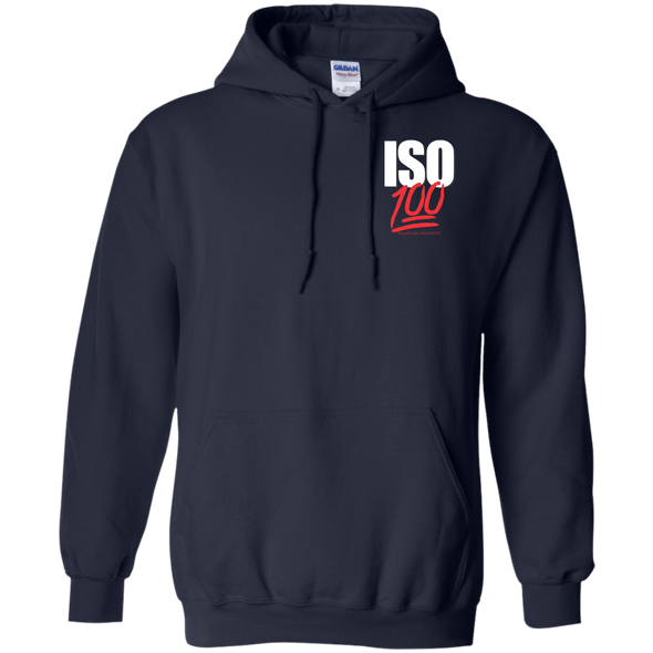 ISO 100 Pocket Logo Pullover Hoodie - Shoot Film Co.