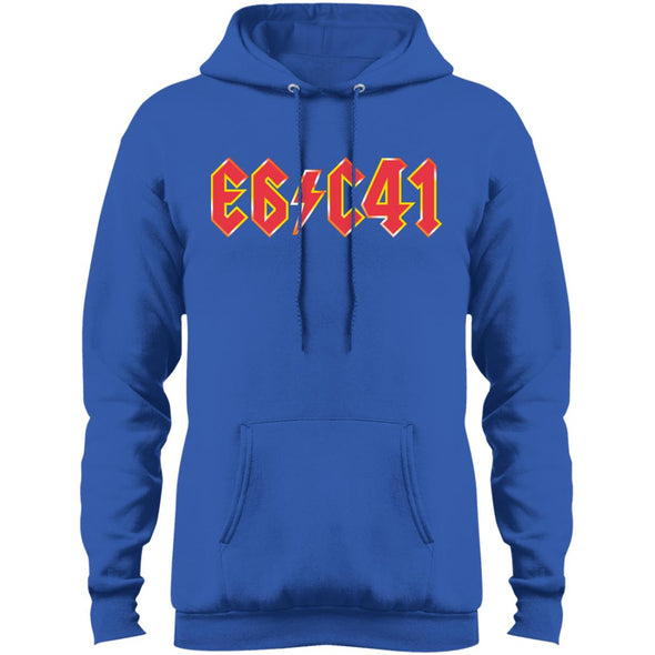 "E6 C-41 ""For Those About to Rock"" Fleece Pullover Hoodie - Shoot Film Co."
