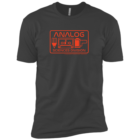Analog Sciences Division Premium Men's T-Shirt - Shoot Film Co.