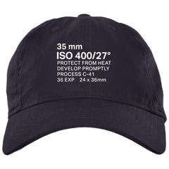 35mm Film Package Brushed Twill Unstructured Dad Cap