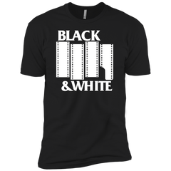 Black & White Film BLACK Premium Short Sleeve T-Shirt