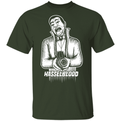 Hasselblood Vampire Film Camera Short Sleeve T-Shirt