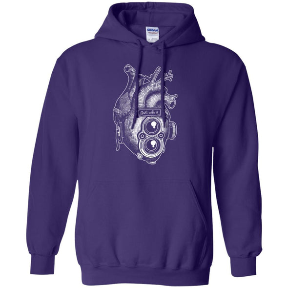 Roll With It TLR Heart Pullover Hoodie - Shoot Film Co.