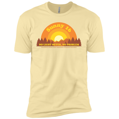 Sunny 16 Premium Short Sleeve T-Shirt - Shoot Film Co.