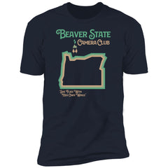 Oregon Beaver State State Camera Club T-Shirt