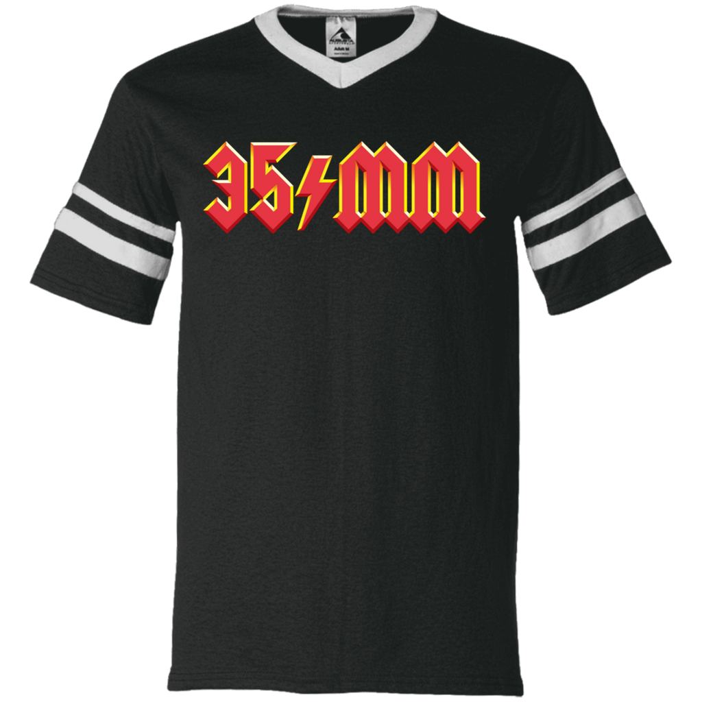 "35mm ""For Those About to Rock"" V-Neck Striped Jersey"