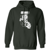 Zombie Wants Grain Front Print Pullover Hooded Sweatshirt - Shoot Film Co.
