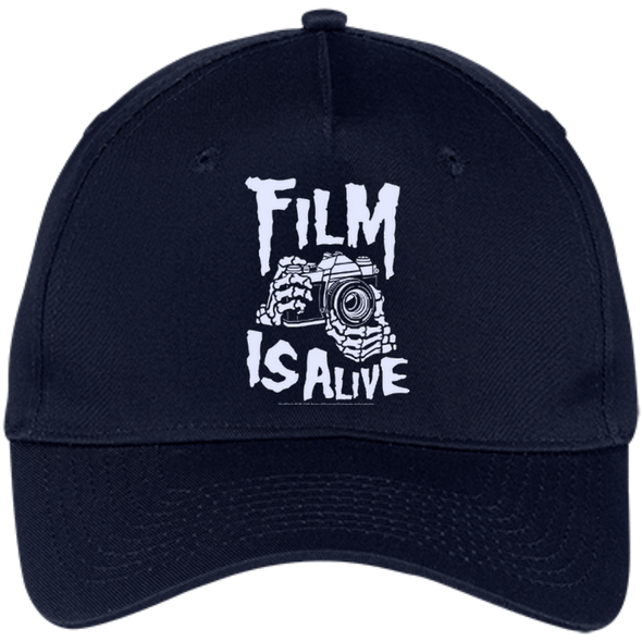 Film is Alive Strap Back Twill Cap - Shoot Film Co.