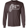 Point and Shoot 35mm Film Camera Long Sleeve Cotton T-Shirt - Shoot Film Co.