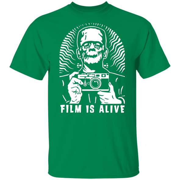 Film is Alive Short Sleeve Cotton T-Shirt - Shoot Film Co.