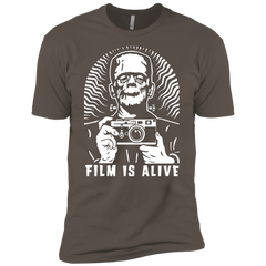 "Film is Alive ""Frank & His Camera"" Premium Short Sleeve T-Shirt"
