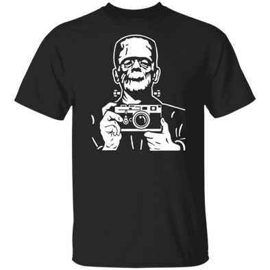 Frank & His Rangefinder 35mm Film Camera Short Sleeve Shirt - Shoot Film Co.
