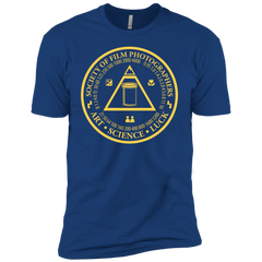 Society of Film Photographers Film Photography Shirt in Royal Blue