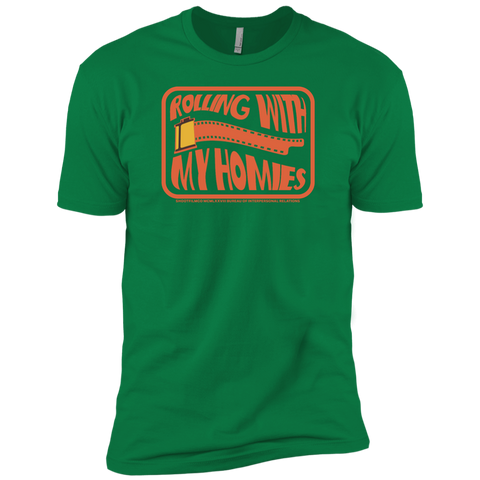 Rolling With My Homies Premium Short Sleeve T-Shirt