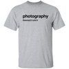 Generic Photography Themed T-Shirt Cotton Short Sleeve Shirt - Shoot Film Co.