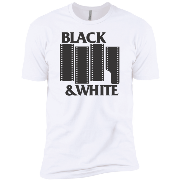 Black & White Film Premium Short Sleeve T-Shirt - Shoot Film Co.