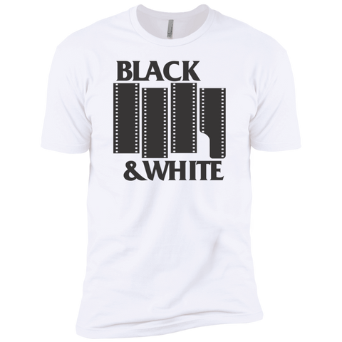 Black & White Film Premium Short Sleeve T-Shirt