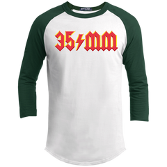 "35mm ""For Those About to Rock"" Sporty Jersey T-Shirt"