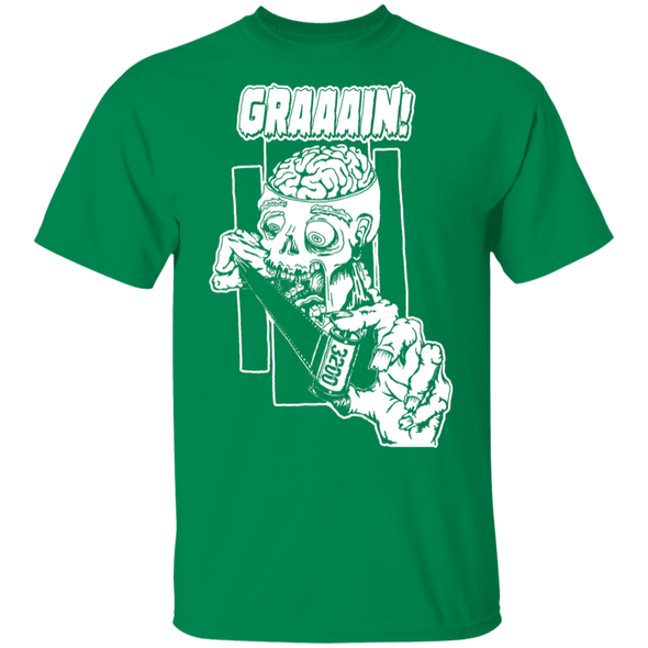 Zombie Wants Grain Front Print Short Sleeve T-Shirt - Shoot Film Co.