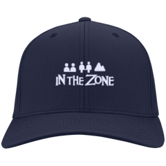 In The Zone Twill Strap Back Cap