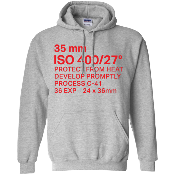 35mm Film Package Hoodie Pullover Sweatshirt - Shoot Film Co.